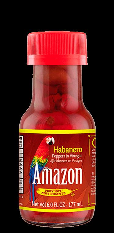 Habanero amazon in vinegar