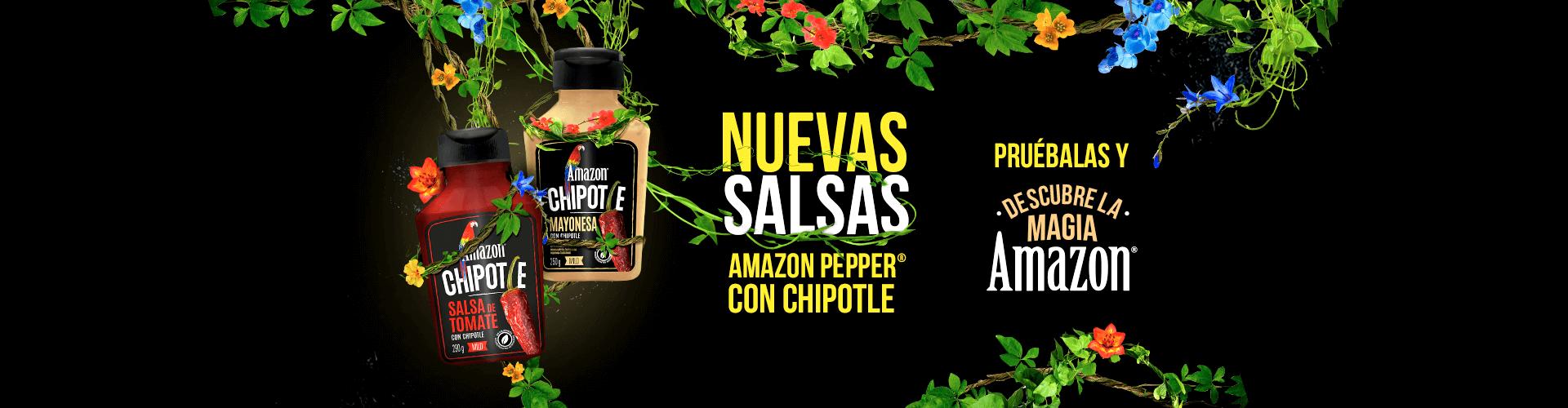 Nuevas salsas con chipotle